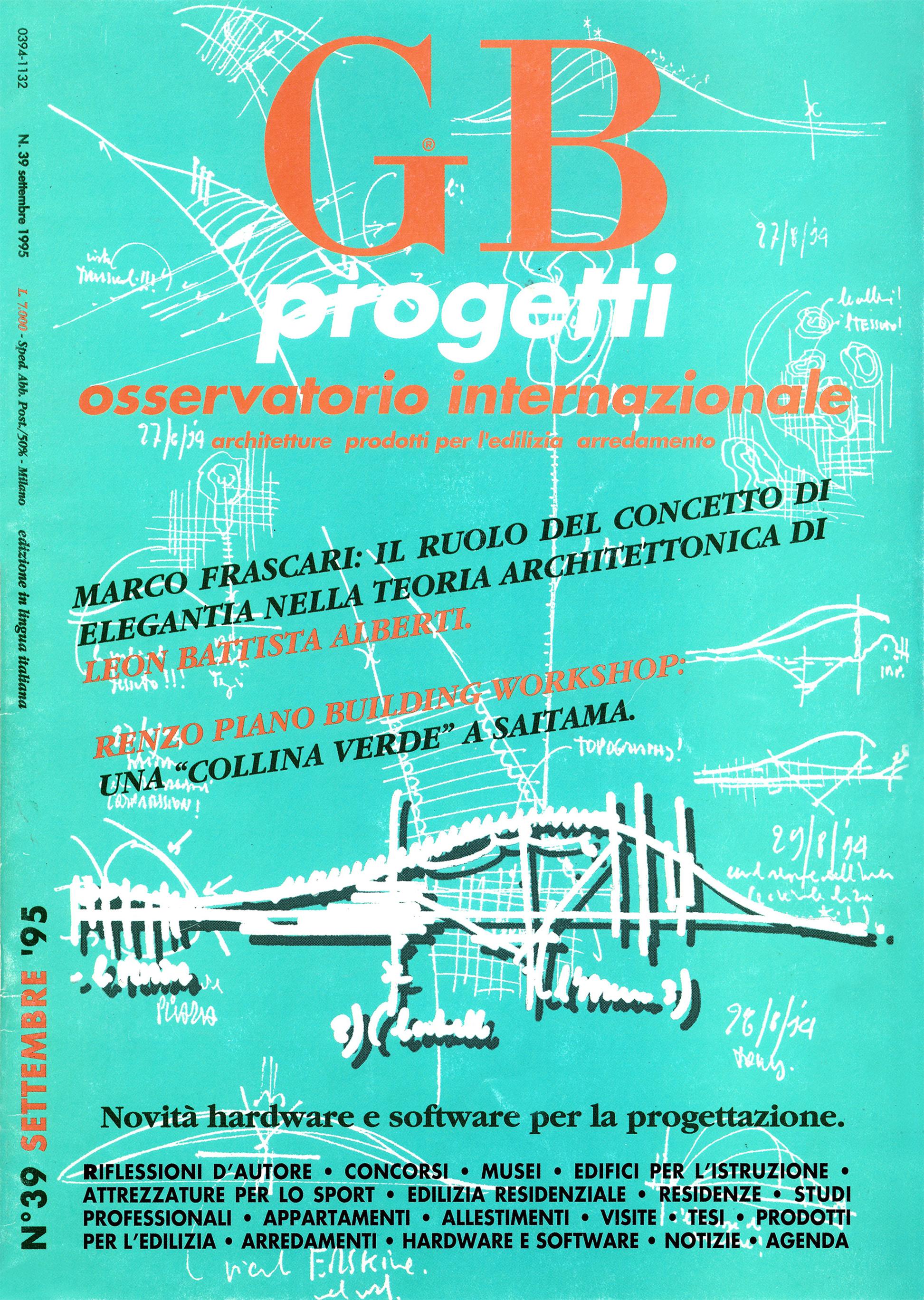 GB progetti, Settembre 1995
