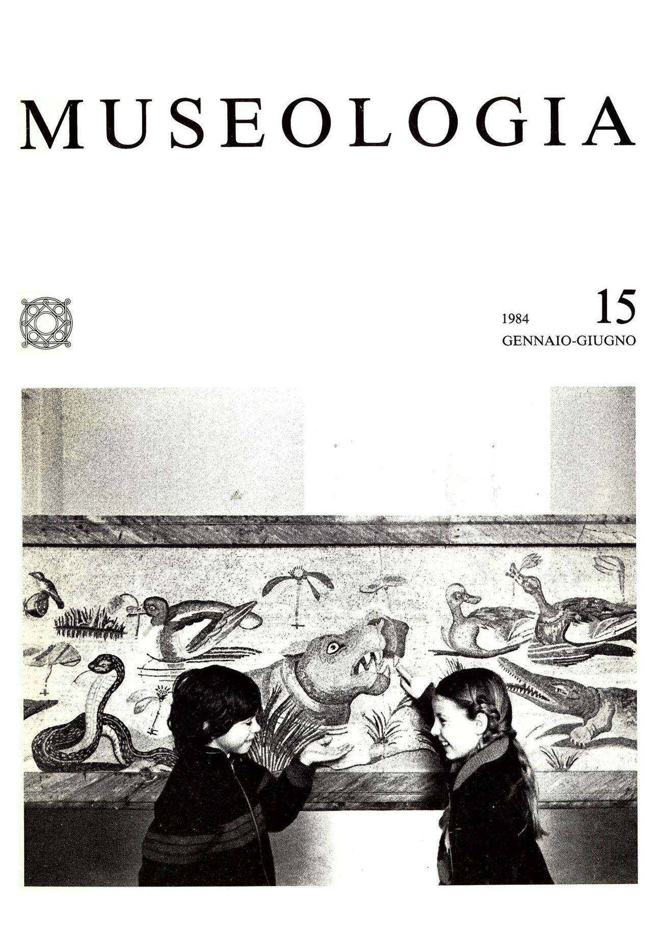 Museologia n°15, Gennaio-Giugno 1984