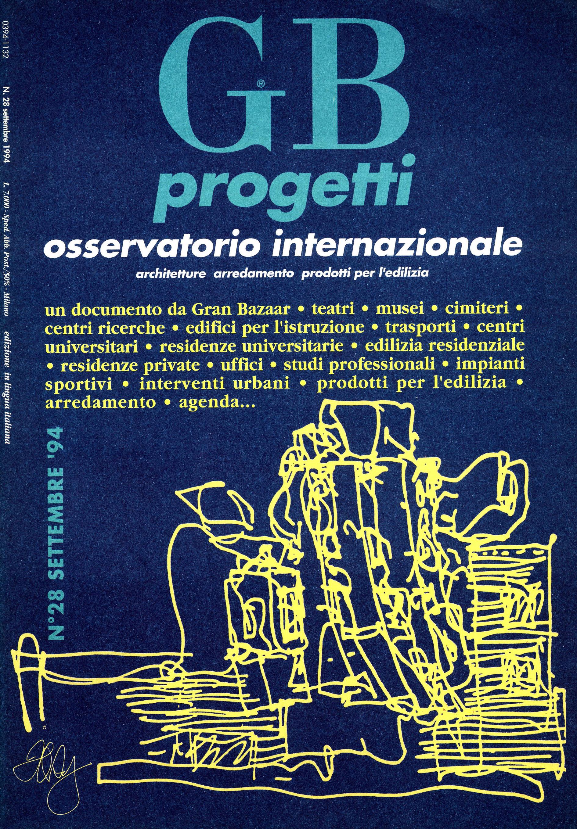 GB progetti, Settembre 1994