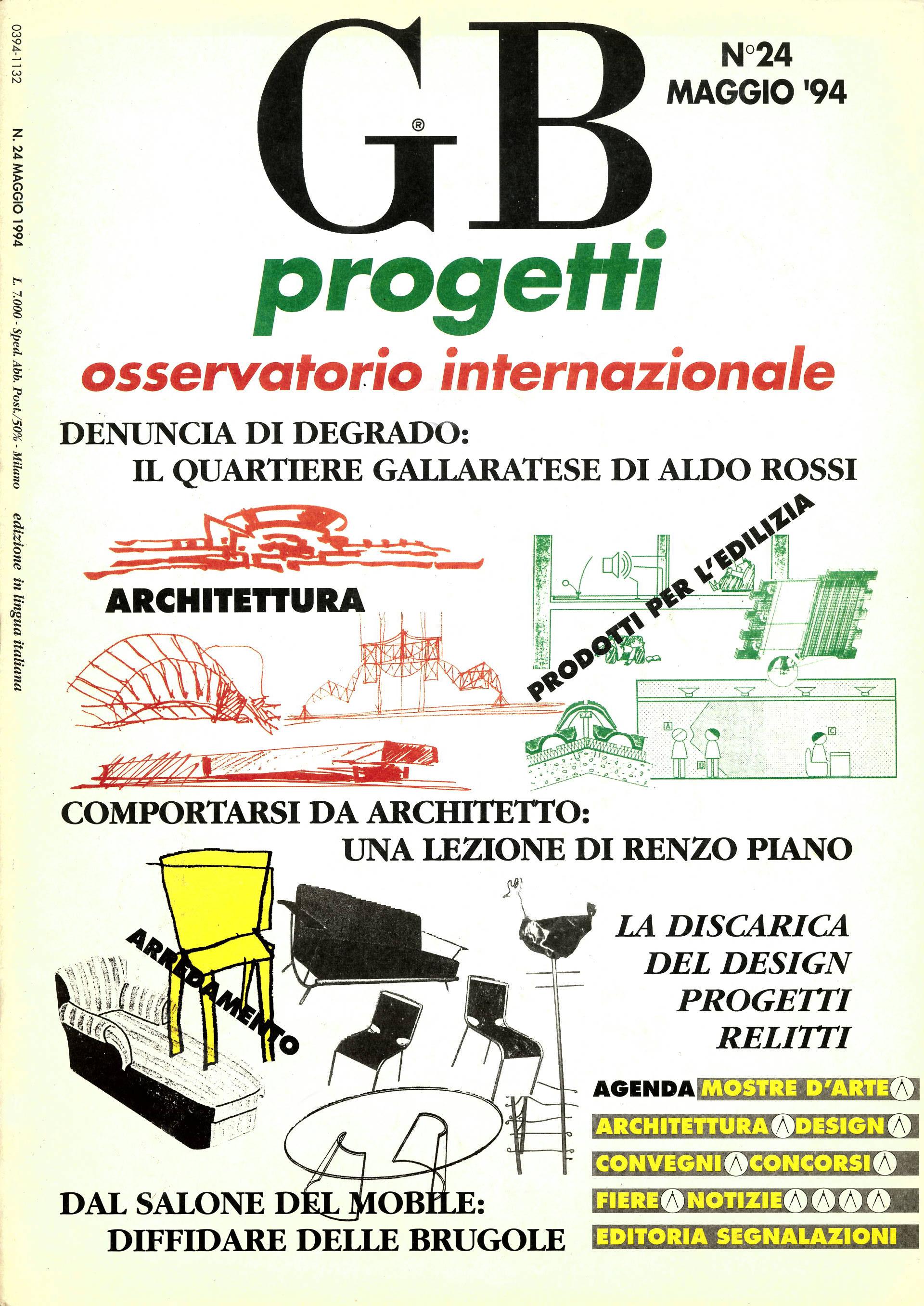 GB progetti, Maggio 1994