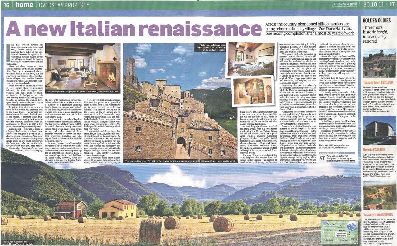 Sunday Times, 30 Ottobre 2011